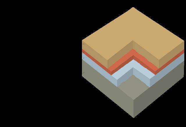 標準タイプの被膜構成